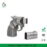 16GB Silver Metal Gun Shape USB2.0 Pen Cool Flash Drive Memory Stick