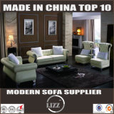 Modern Leather Sectional Sofa Set (Lz082)