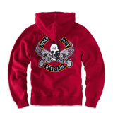 Men's Zip Hoody with Elaborate Back Decoration (YRMH001)