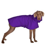 Waterproof Nylon Pet Clothes Purple Dog Raincoat