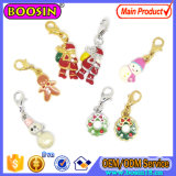 Wholesale Crystal with Enamel Fancy Alloy Charm for Christmas