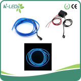 2m 12V Blue EL Wire Car Lighting with Convertor