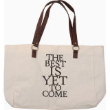 Heavy Cotton Tote Bag with Customized Handle