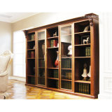 Oppein Antique Wooden Craft Decorative Shelves (BG211124A242)