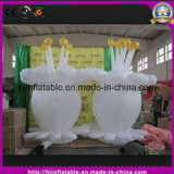 2016 Hot Selling Crazy Stage Decoration Inflatable Flower with Colorful LED