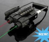 Military Standard Dual Green Laser and Red Laser Gun Light Sight Aimer (ES-XL-4GR)