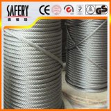 7X7 304 Stainless Steel Wire Ropes