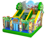 New Design Jungle Standard Slide Bouncy Slide Inflatable Slide