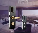 Orbita Keyless Card Electronic RF Hotel Door Lock with Stainless Steel Handle