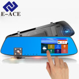 5 Inch Touch Screen Dual Lens Rear View Mirror Video Recorder