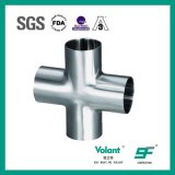 Hygienic Stainless Steel Sanitary Equal Welded Cross