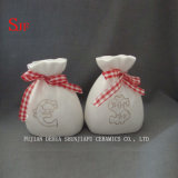 "Ceramic White ""Purse Fund"" Savings Piggy/Coin/Money Bank for My Gift"