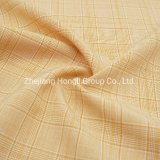 Fabric, Polyester, 94%Polyester 6%Spandex Cationic Check Plaid Poly Span Fabric #20016