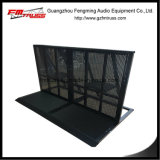 Aluminum Alloy Material Crowd Barrier with Black Power Coated Surface