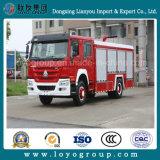 Sinotruk HOWO 4X2 336HP Water and Foam Fire Fighting Truck