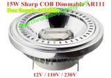LED Dimmable 15W COB Light LED AR111