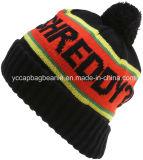 Promotional Winter Jacquard POM POM Knitted Hat