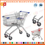 Euro Style High Quality Wholesale Supermarket Shopping Carts Trolley (ZHt229)