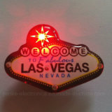 Promotion Gifts Flashing LED Badge with Logo Printed (3569)