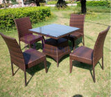 4 Chair 1 Table Outdoor Furniture Dining General Garden Set