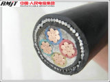 Copper Conductor XLPE Insulated Steel Wire Armored Power Cable