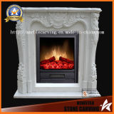 Quatlity Factory Directly Stone Fireplace for Indoor, Outdoor