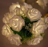 Solar Flower Decoration LED Effect Light for Christmas Event Lighting