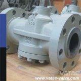 API 6D Cast Steel Pressure Balance Plug Valve