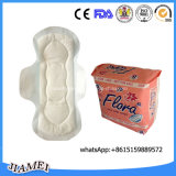 Nonwoven Topsheet Sanitary Pad with Wings Hot Sell in Kenya