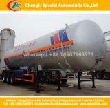 Tri-Axles 56 Cbm LPG Gas Cylinder Pressure Vessel Semi Trailer