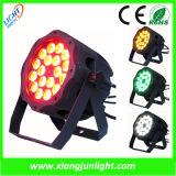 Outdoor 18X18W LED PAR Light and Wash Light LED Light