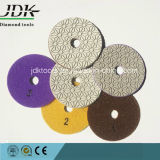 Jdk New Diamond Flexible Wet Polishing Pad, 3steps