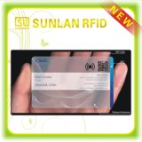 High Quality RFID Smart Card with Transparent Surface