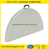 Wholesale Outdoor Folding White Plastic Table in Half