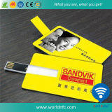 Custom Full Color Printing USB Flash Disk Driver Card for Promotional Gift