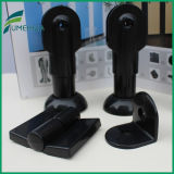 Toilet Partition Black Nylon Accessories Support Leg Hardware