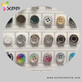 Fashion Polyester High-Grade Shirt Button Plastic Button