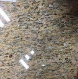 Wholesale Polished Giallo Sao Francisco Real Yellow Granite Flooring Tile