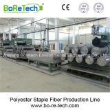 Polyester Staple Fiber Production Line / Recycling Equipment Machine