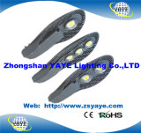 Yaye 18 Hot Sell 50W/60W/70W/80W/90W/100W/120W/150W /180W COB LED Street Lights with Ce/RoHS /3 Years Warranty