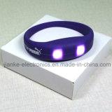 LED Blinking Party Bracelets with Logo Print (4010)