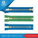 4# Brass Metal Zipper for Y Teeth Type