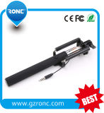 Free Sample Gift for Christmas Promotion 2016 Cheapest Cable Wired Selfie Stick