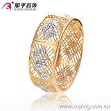 New Xuping Fashion Multicolor Big Wider Thick Bangle with Flowers