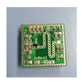 Double Sided Small Size Microwave Doppler Sensor Module