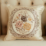 Chenille Jacquard Square Euro Throw Pillow Toss Pillow Decorative Pillow