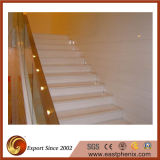 White Crystallized Glass Stone Stair