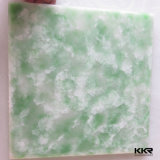 Kkr White Building Material Polyester Resin Solid Surface