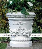 Natural White Large Flower Pots