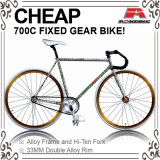 Paint Decal 700c Fixed Gear Bicycle (ADS-7108S)